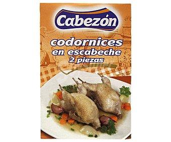 Cabezon Codornices en escabeche 370 g