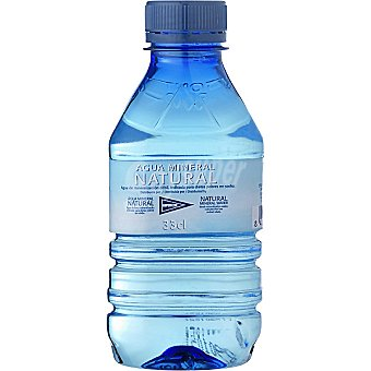 Hipercor Agua mineral natural Botella 33 cl