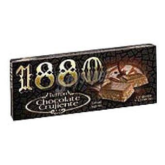 1880 Turrón de chocolate crujiente Caja 300 g