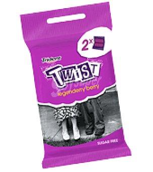 Trident Chicles Sin Azúcar frambuesa Twist pack de 2x23 g
