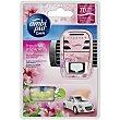 Ambientador de coche For Her floral y atrevida aparato + recambio  AMBIPUR CAR