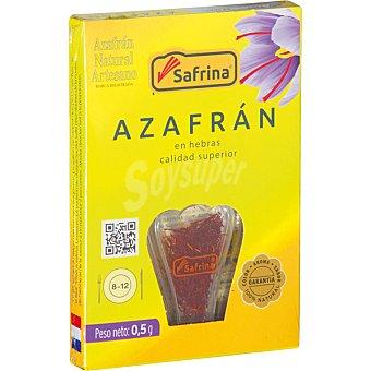 SAFRINA Azafrán artesano en hebras Envase 0,5 g