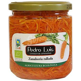 Pedro Luis Zanahoria rallada ecológica Frasco 210 g neto escurrido