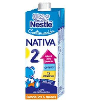 Nativa Nestlé Leche de continuación liquida Nativa Botella de 1l