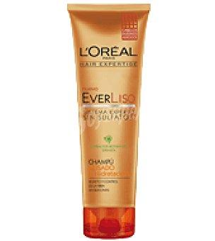 L'Oréal-Hair Expertise Champú alisado & hidratación EverLiso para cabellos encrespados 250 ml