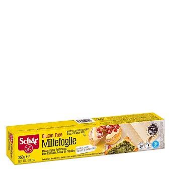Schär Pasta hojaldre sin gluten Millefoglie Envase 250 g