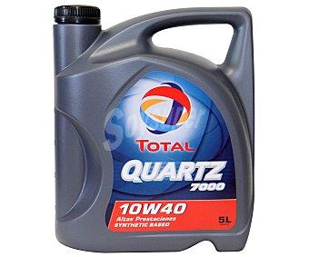 TOTAL Aceite sintético para vehículos gasolina y diésel 5 Litros