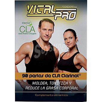 VITAL PRO Cla Clarinol moldea tonifica y reduce la grasa corporal 90 perlas bote 415 g