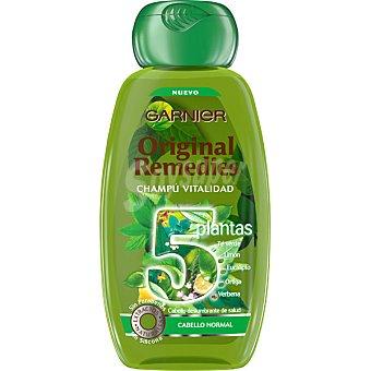 Garnier Champú vitalidad 5 plantas para cabello normal Frasco 250 ml