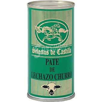 Selectos de castilla Paté de lechazo churro Lata 200 g neto escurrido