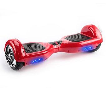 """Orange fish Monociclo o patinete eléctrico autoequilibrio con 2 ruedas de 7"""" y control remoto, color rojo, motor doble, 15 km/hora, 1-2,30 horas de autonomía 1 unidad"""
