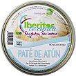 Paté de atún sin gluten y sin lactosa lata 100 g lata 100 g Iberitos