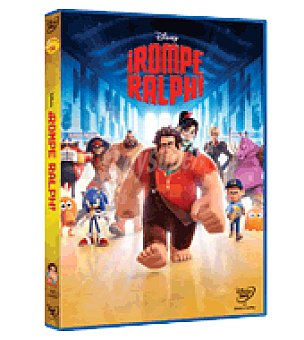Disney Rompe Ralph DVD