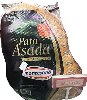 Montesano Pata asada canaria a lonchas Unidad 50 gr