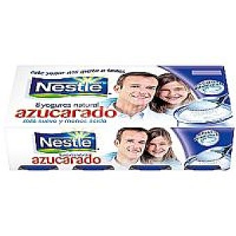 Nestlé Yogur natural azucarado Pack 8x125 g