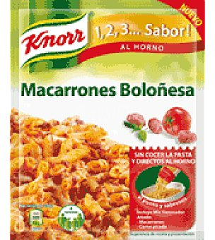 Knorr Sazonador macarrones bolognesa 52 g