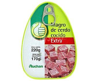 Productos Económicos Alcampo Magro de Cerdo Extra 220 Gramos