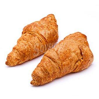UN. Croissant de mantequilla Bandeja 4 unid