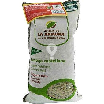Lenteja castellana de la Armuña categoría extra saco 1 kg