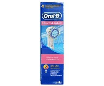 Oral-B Recambio Cepillo Eléctrico Sensitive 2 Unidades