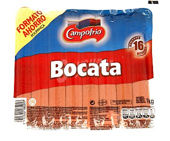 Campofrío Salchicha Hot Dog New Yorker 1 Kilogramo