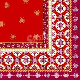 PAP STAR servilletas Christmas Composition 3 capas 40x40 cm  paquete 20 unidades
