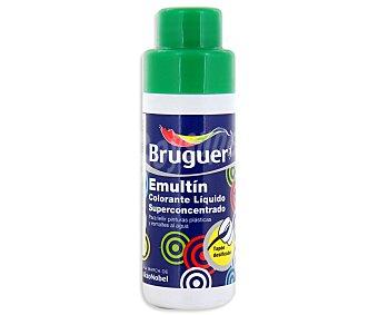 BRUGUER Colorante Líquido Superconcentrado Emultin, Color Verde Hierba 0,5 Litros