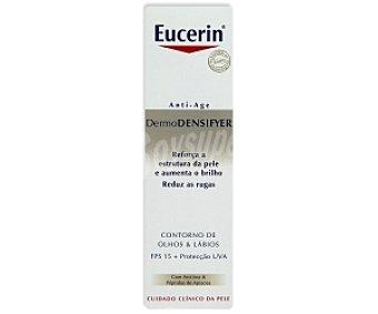 Eucerin Contorno ojos y labios antiedad, dermo desiryer 15 Mililitros