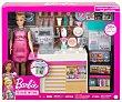 Muñeca Y su cafetería con mas de 20 accesorios barbie. Barbie