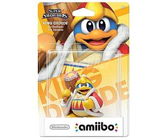 Nintendo Figura amiibo Rey Dedede, serie Kirby Super Smash Bros, compatible con WiiU, Nintendo New 3Ds y New 3Ds XL 1 unidad