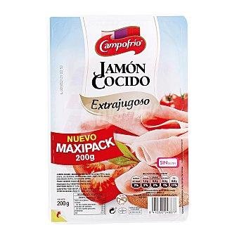 Campofrío Jamón cocido extrajugoso en lonchas Envase 200 g