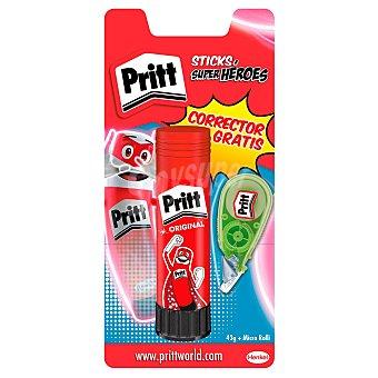 Pritt Barra Adhesiva Power de + corrector Micro Roller 5mmx6m pritt 43 gr