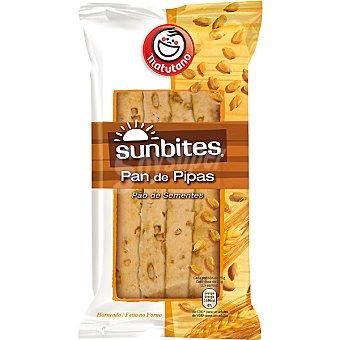 Sunbites Snack de pan de pipas Bolsa 80 g