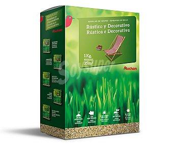Producto Alcampo Caja de 1 kilogramo con semillas para plantar cesped rústico y decorátivo alcampo
