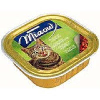 Eroski Delicias de conejo Miaow Tarrina 100 g
