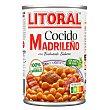 Cocido madrileño Lata 440 gr Litoral