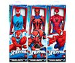 Figura articulada de 30 centímetros de altura Spiderman Titan Web Warriors, marvel  Spiderman Marvel