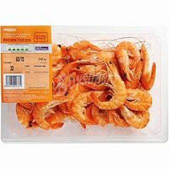 Eroski Langostino cocido 60-70 Bandeja 450 g