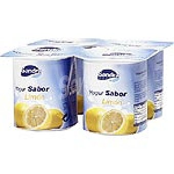 Sandra Yogur sabor limón pack 4 unds. 125 g Pack 4 un