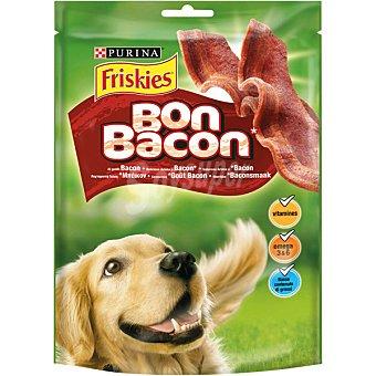Friskies Purina Snack para perro sabor a bacon Paquete 120 g