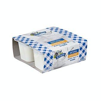 La Fageda Yogur natural azucarado elaborado sin gluten 4 x 125 g