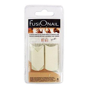 Fusionail Kit guias adhesivas Caja 140 unid