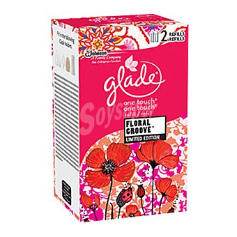 Glade Brise Ambientador One Touch Floral Groove 20 ml