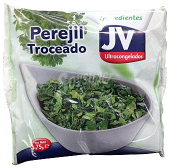 Jv Perejil troceado congelado Paquete 75 g