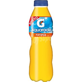 AQUARADE bebida isotónica sabor naranja  botella 50 cl
