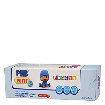 Phb Gel dentífrico infantil protege contra las caries 75 ml