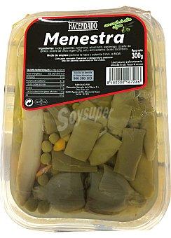 Hacendado Menestra verdura conserva Tarrina 300 g
