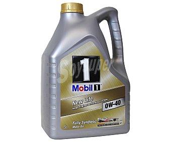 MOBIL Lubricante sintético para motores gasolina y diesel, New Life 5 Litros
