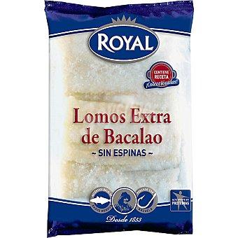 Royal Lomos de bacalao extra sin espinas Estuche 400 g