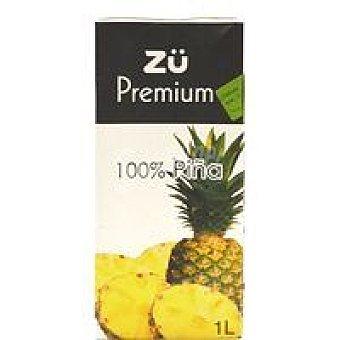 Zü Premium Zumo 100% piña 1 l